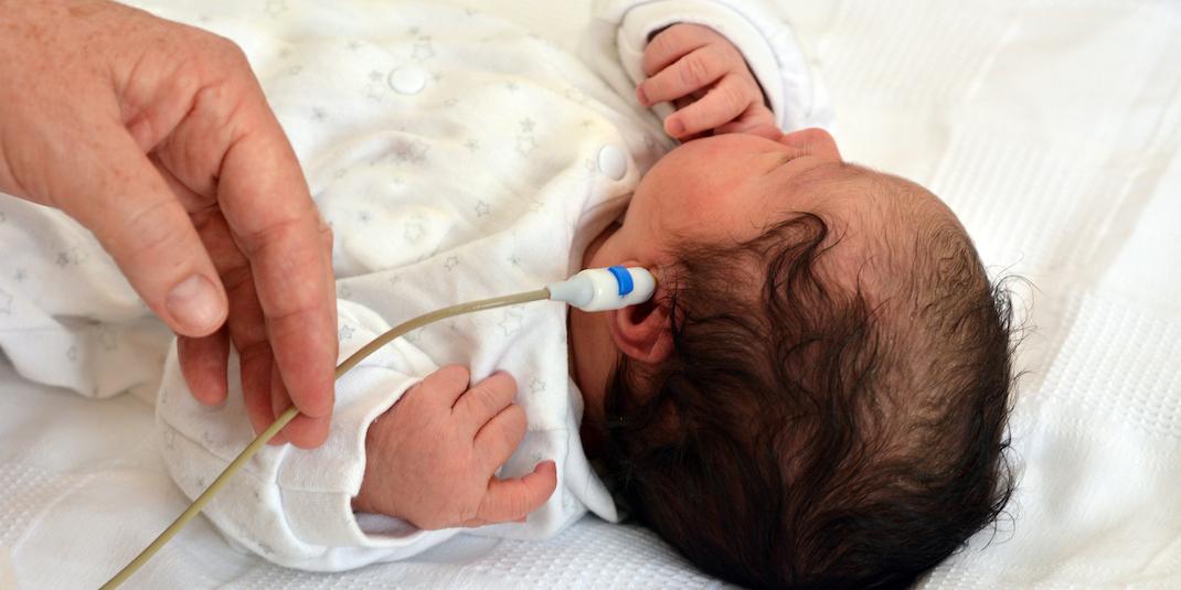 Infant hearing screening